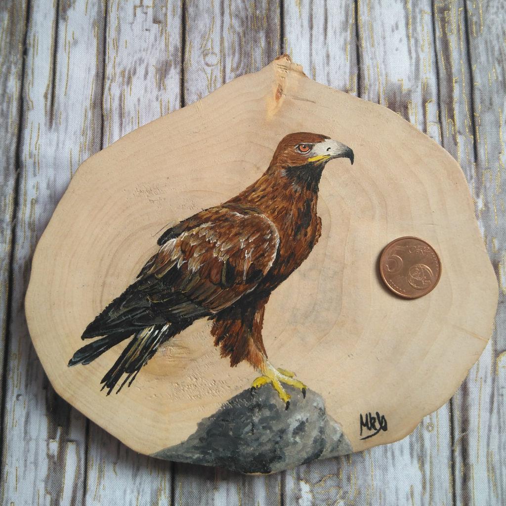 águila real 13x10 cm